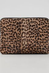 3.1 Phillip Lim 31 Minute Colorblock Calf Hair Clutch Bag - Lyst