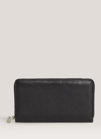 Alexander McQueen Studded Long Zip Wallet - Lyst