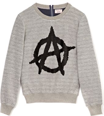Ashish Anarchy Sign Sweatshirt - Lyst