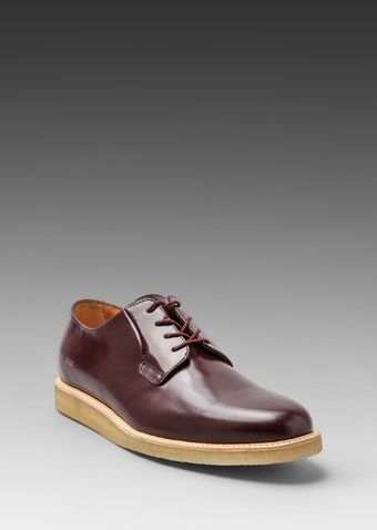 Common Projects Derby in Burgundy - Lyst