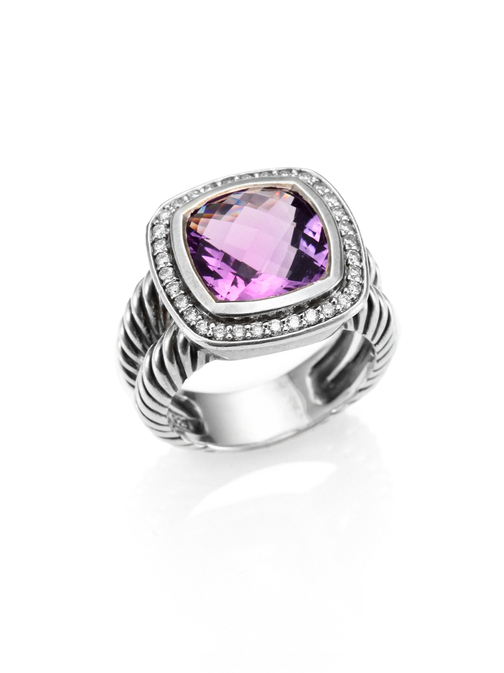 david yurman rings gold silver fashion rings lyst