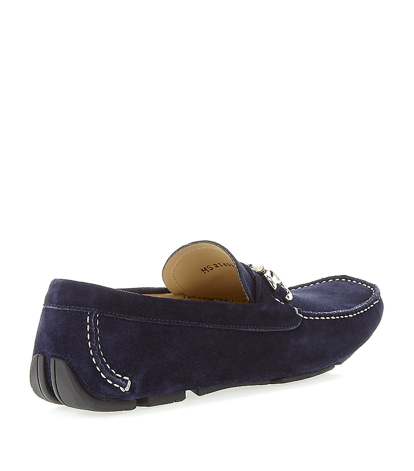 Suede Slip On Shoes Stud