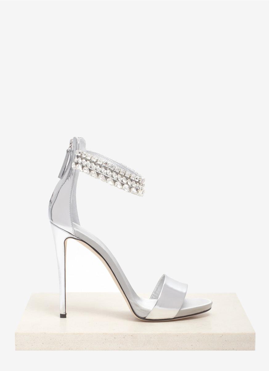 002278fa4f4 ... new arrivals lyst giuseppe zanotti crystal embellished metallic sandals  in metallic d5d3b 01984