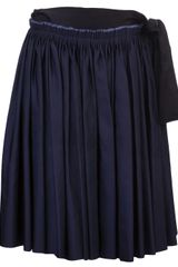 Lanvin Vault Weaved Skirt - Lyst