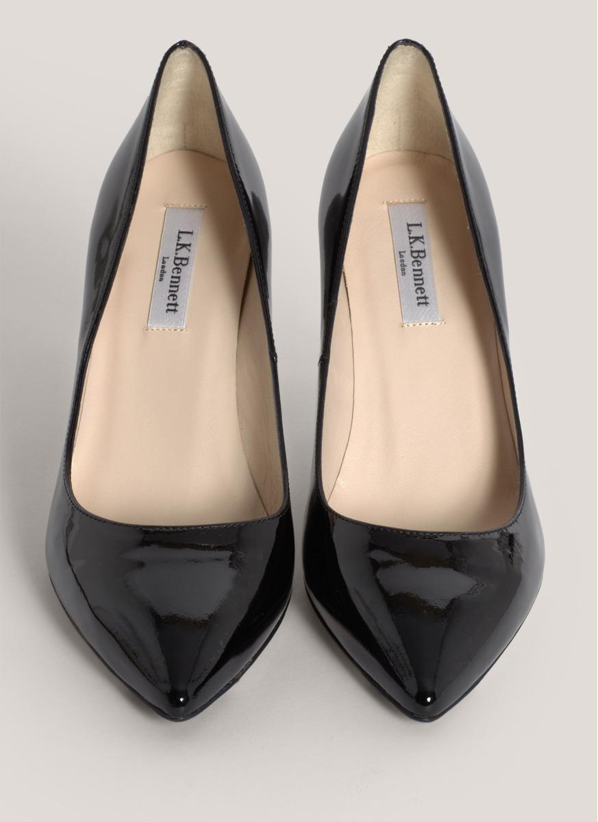 edb1fe9aa86 Lyst - L.K.Bennett Florete Patent-leather Pumps in Black