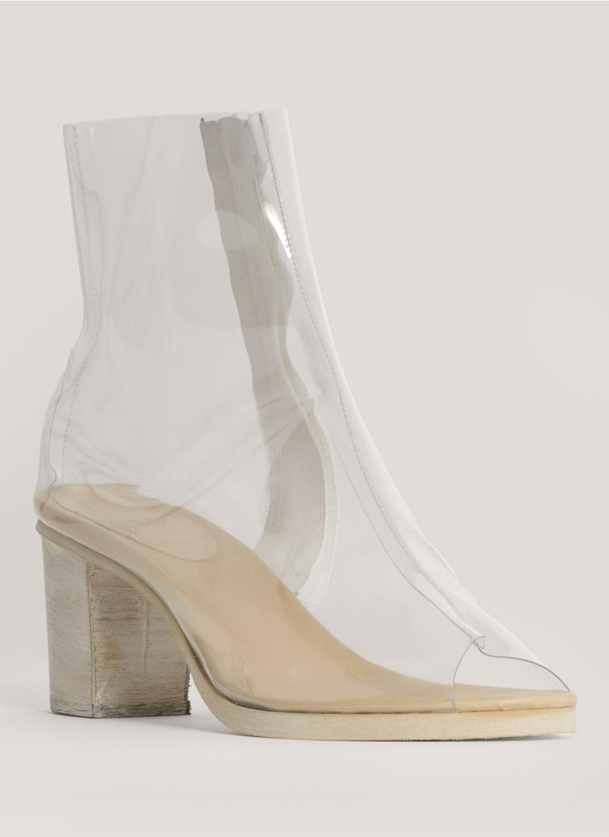 Vinyl Heel Shoes