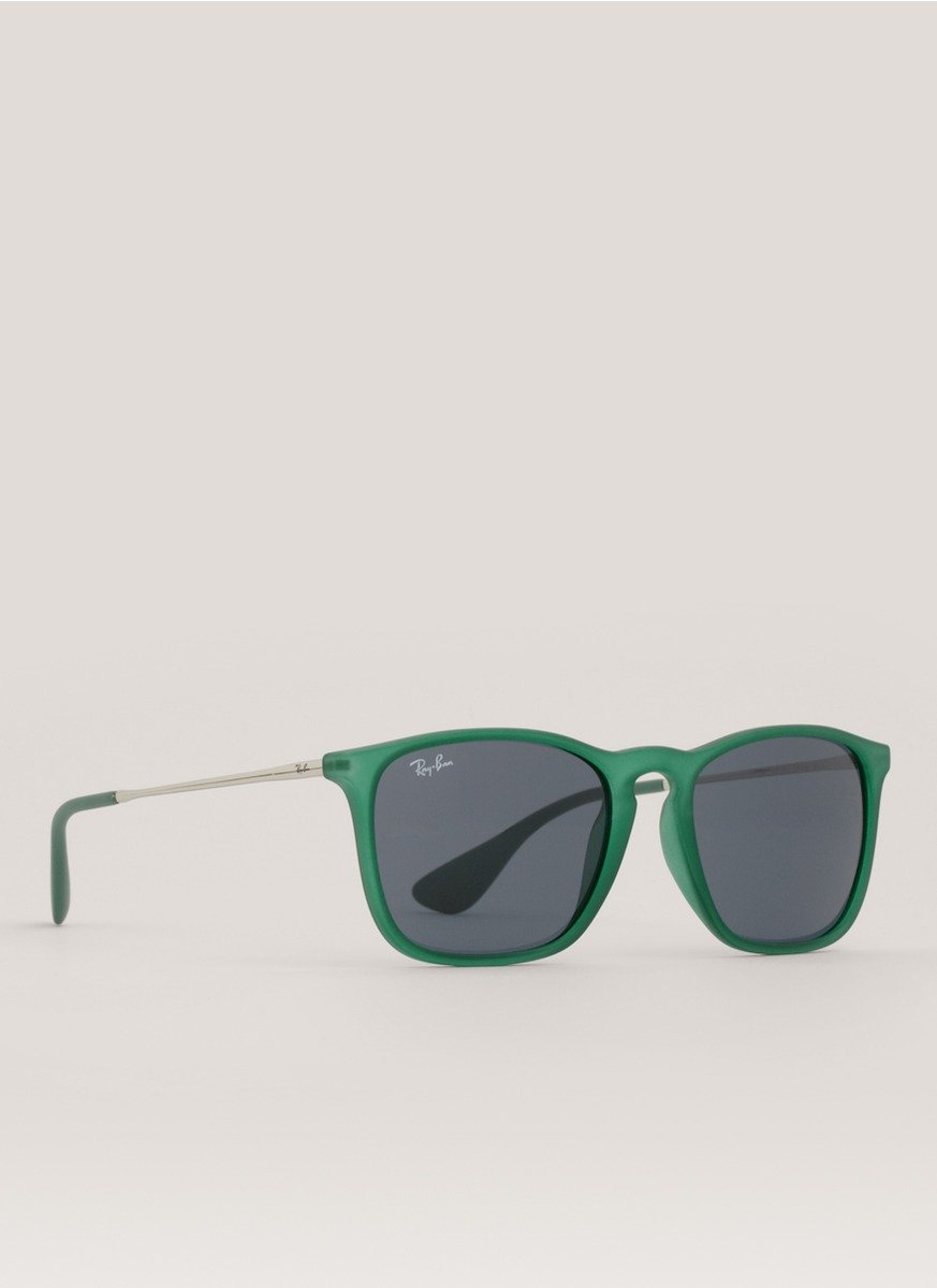 b354d1c3489f ... ireland lyst ray ban chris square frame sunglasses in green 51132 f4016