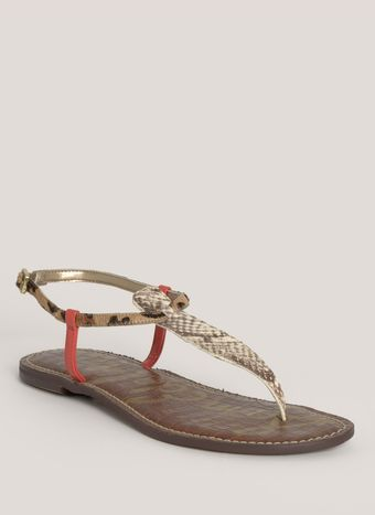 Sam Edelman Gigi Leather Sandals - Lyst