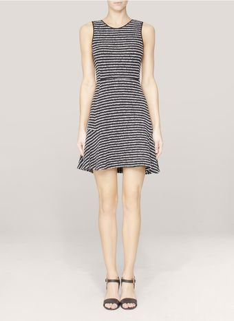 Theory Nikay Striped Sleeveless Dress - Lyst