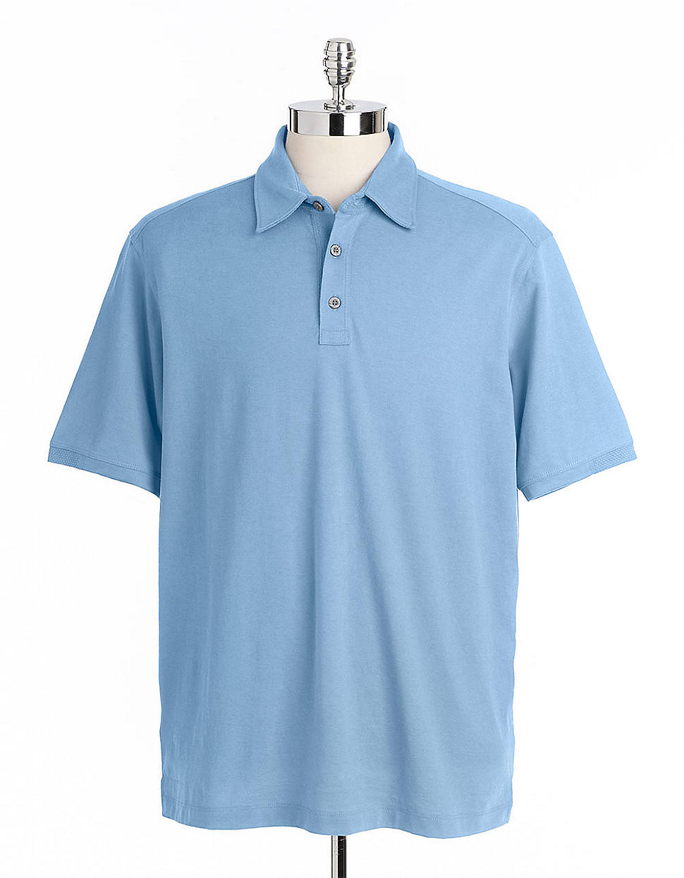 Tommy bahama palm cove spectator polo shirt in blue for for Tommy bahama polo shirts on sale