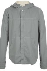 Band Of Outsiders Hooded Jacket - Lyst