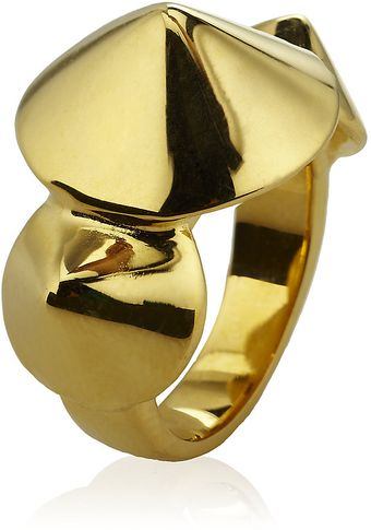 Eddie Borgo Three Cone Ring - Lyst