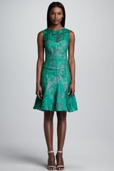 Erdem Sleeveless Lace Dress - Lyst