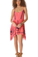 Free People Meadows Of Medallion Slip Dress - Lyst