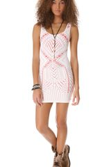 Free People Medallion Slip Dress - Lyst