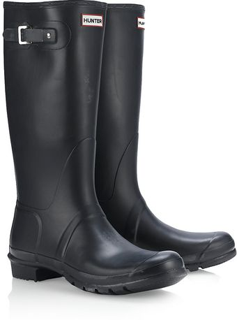 Hunter Navy Original Welly - Lyst