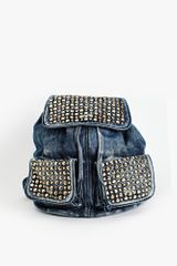 Nasty Gal Valley Girl Studded Backpack - Lyst