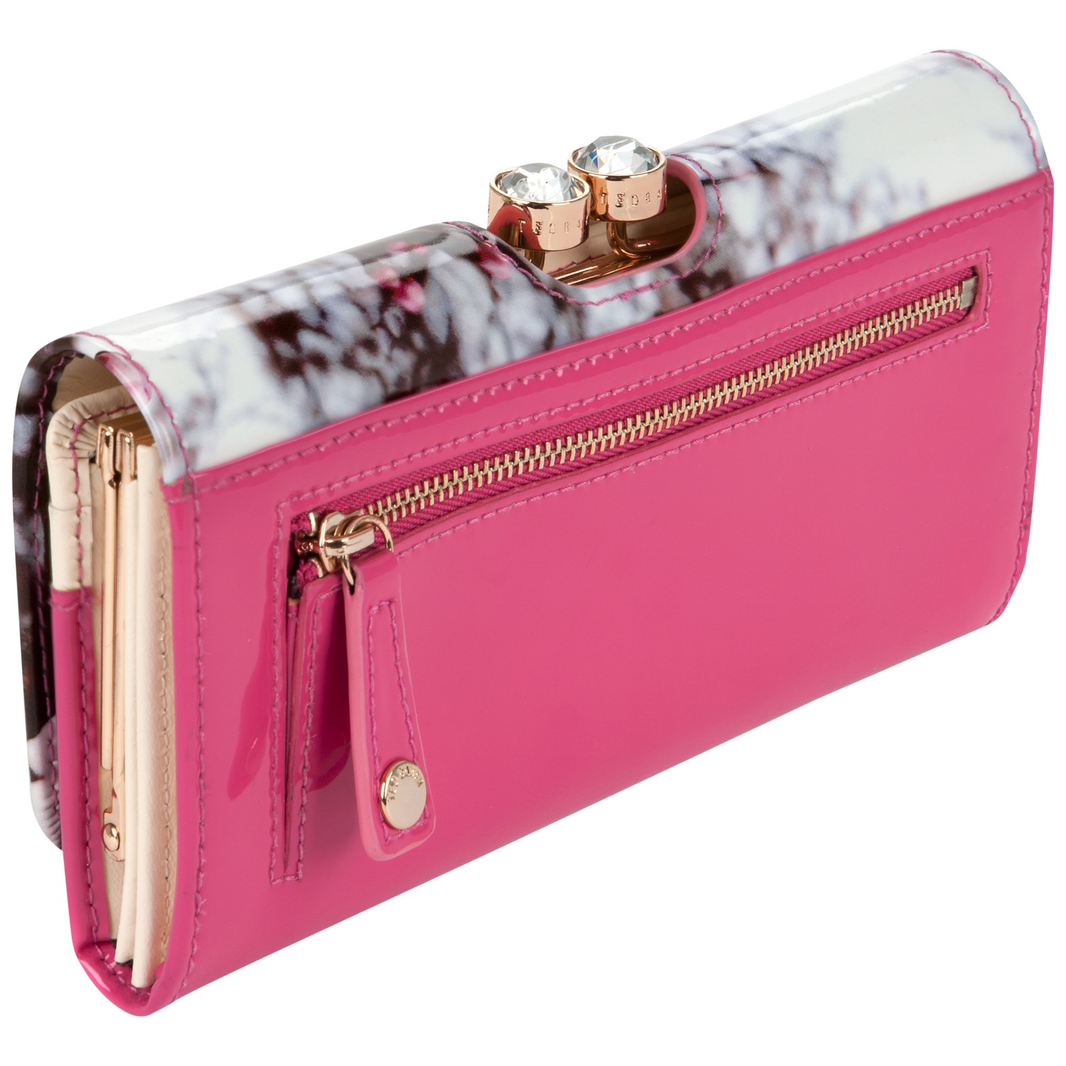 Ted Baker Vappu Floral Purse In Pink Lyst
