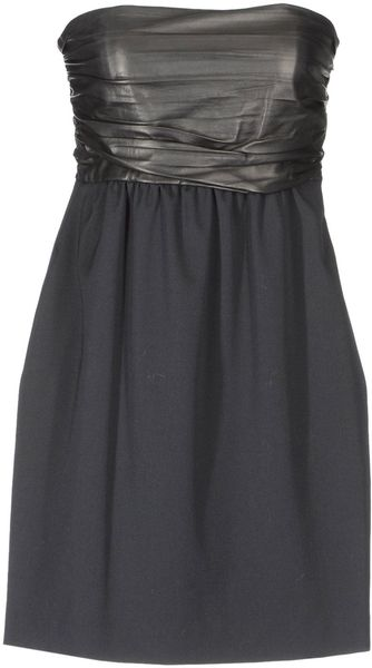 Theory Short Dresses - Lyst