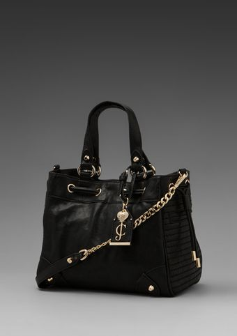 Juicy Couture Dylan Leather Daydreamer in Black - Lyst
