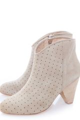 Matt Bernson Jardin Perforated Suede Boots