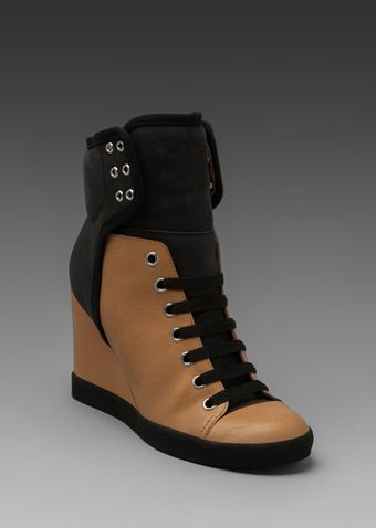 See By Chloé X Sam Wedge Sneaker in Beige - Lyst