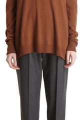 The Row Ines Tunic Sweater - Lyst