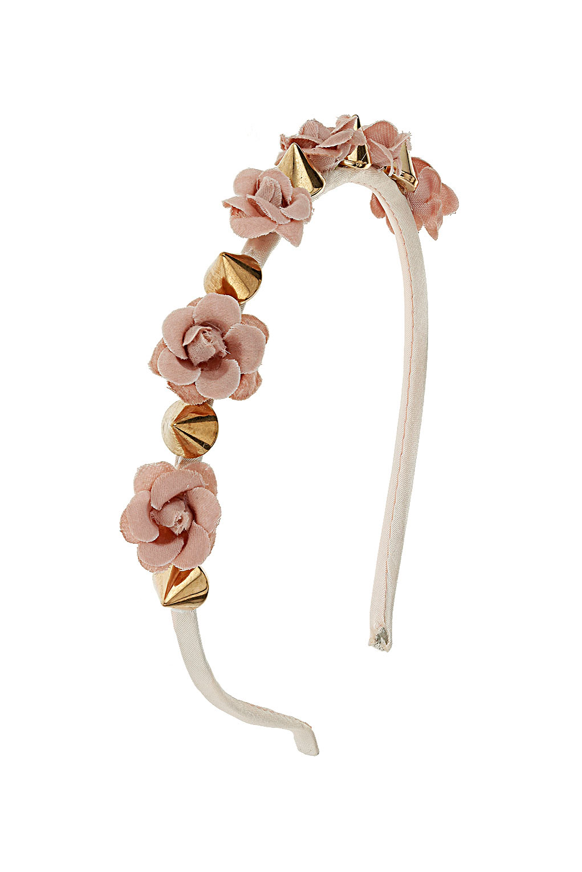 Topshop Flower Spike Headband In Pink Lyst