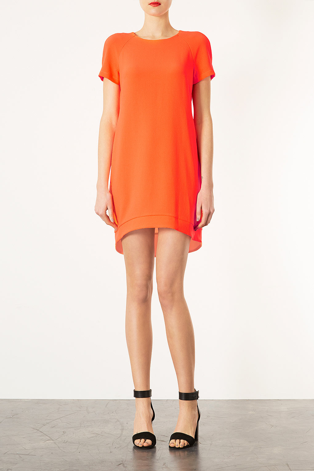 Orange Shift Dress River Island