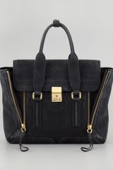3.1 Phillip Lim Pashli Mixedmedia Medium Satchel Bag - Lyst
