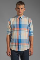 Cheap Monday Loose Pocket Shirt in Blue - Lyst