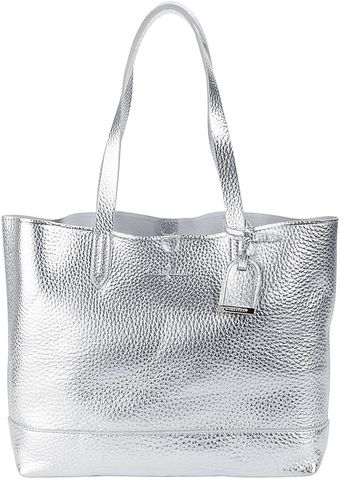 Cole Haan Haven Metallic Leather Small Tote Bag - Lyst
