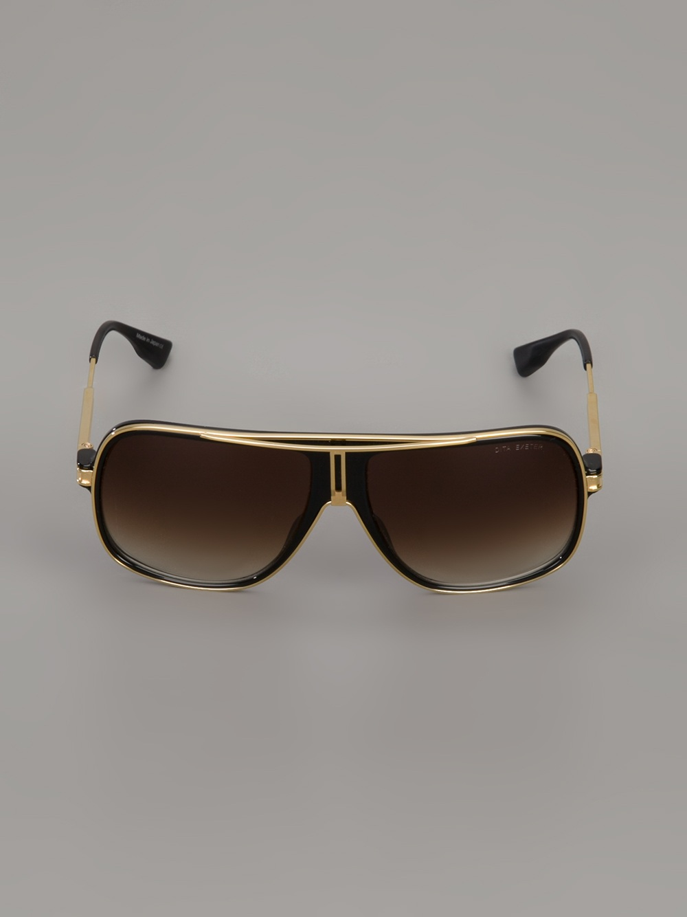 Lyst Dita Eyewear Exeter Sunglasses In Metallic For Men