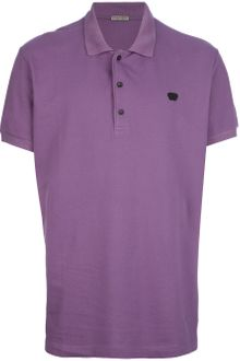 Bottega Veneta Logo Polo Shirt - Lyst