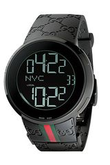 Gucci I 44mm Digital Rubber Strap Watch - Lyst