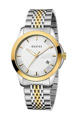 Gucci Gtimeless 38mm Two Tone Stainless Steel Watch - Lyst