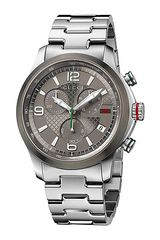Gucci Gtimeless 44mm Chronograph Stainless Steel Watch - Lyst