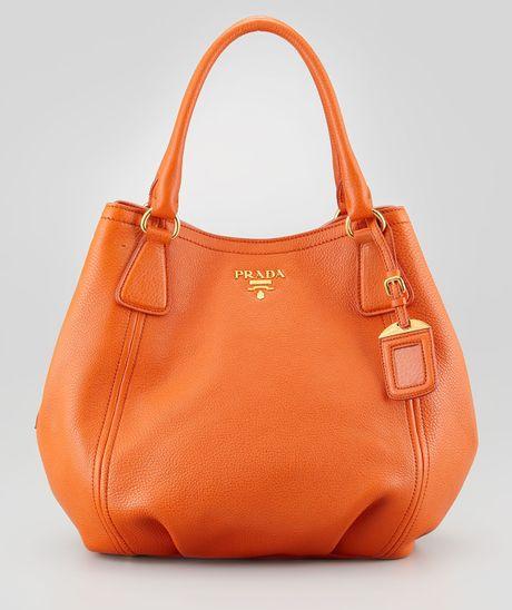 prada clutch bag - Prada Handbags: Prada Bag Orange