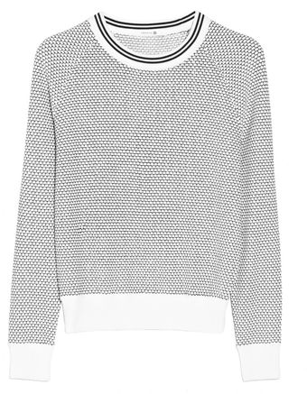 Theory Caranda Patterned Sweater - Lyst