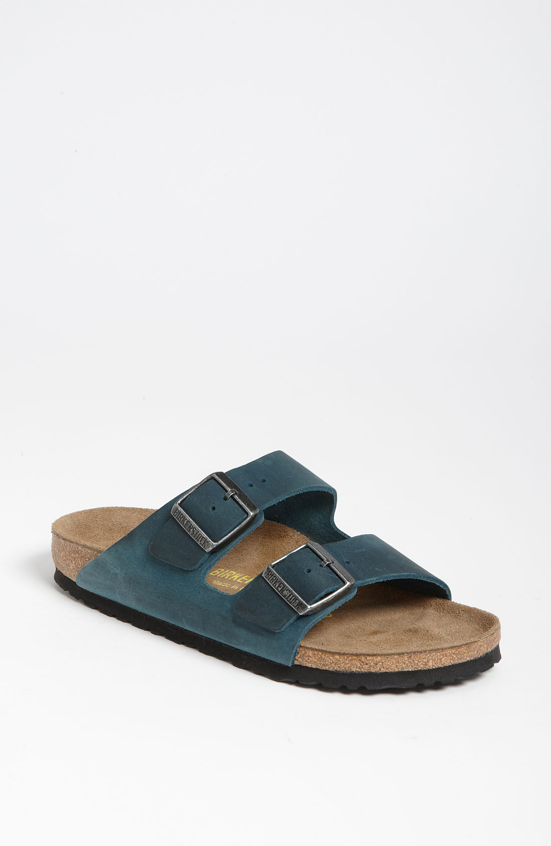 birkenstock gizeh turquoise oiled leather