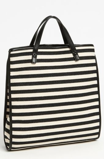 Charlotte Ronson Herringbone Convertible Backpack Tote - Lyst