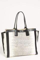 Chloé Alison Lizard Printed Leather Tote - Lyst