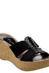 Dezario Nanor Wedge Sandal - Lyst