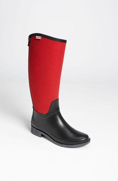 New Hunter Womenu0026#39;s Original Short Gloss Buckle Strap Rain Boots   Dillardu0026#39;s