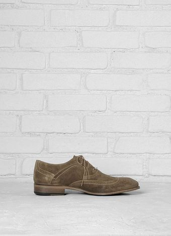 John Varvatos Richards Wingtip - Lyst