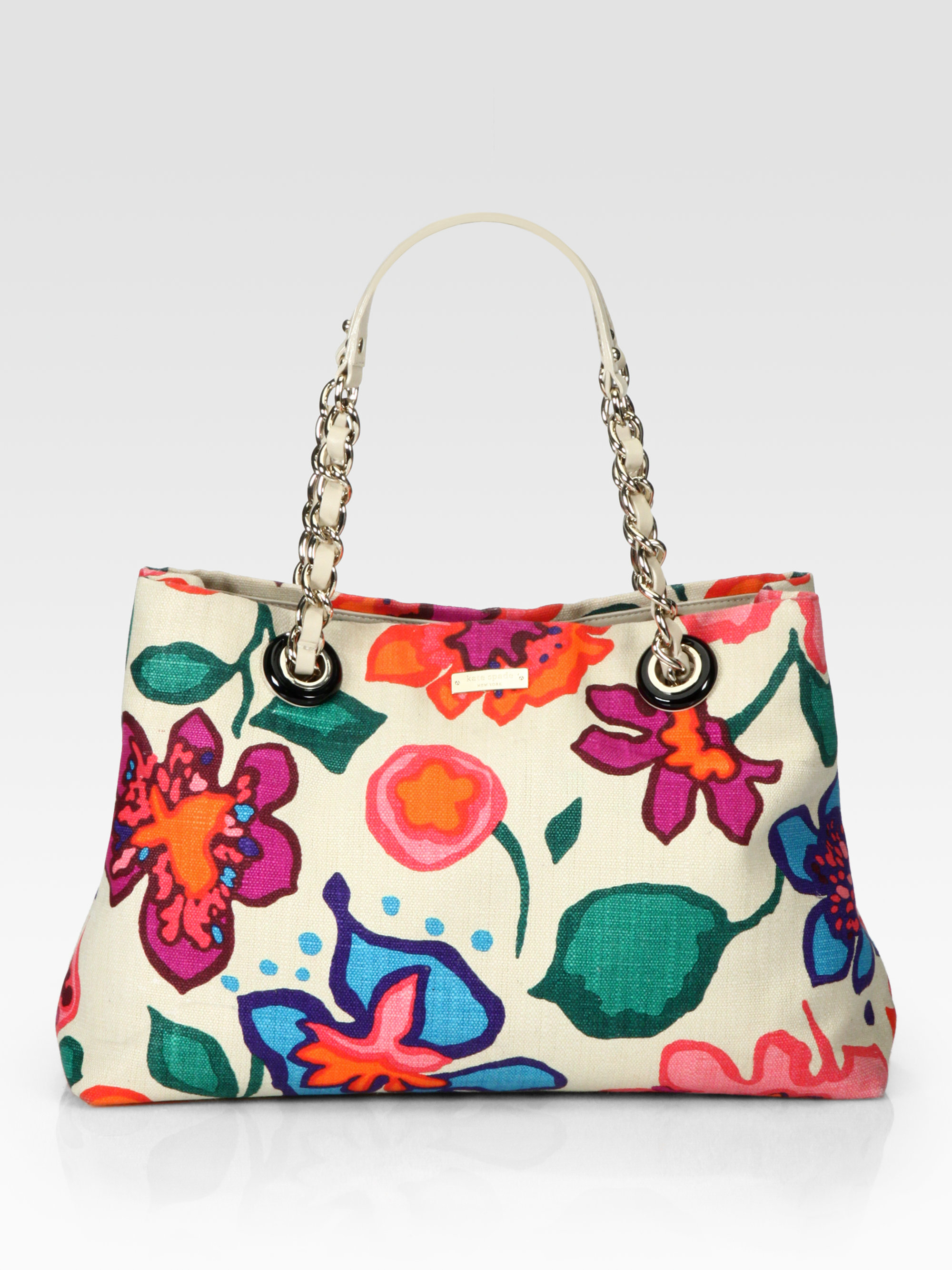 Kate Spade Maryanne Floral Fiesta Shoulder Bag In White (multi) | Lyst
