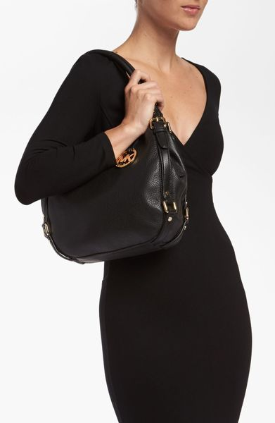 Michael Kors Medium Shoulder Bag In Black 104