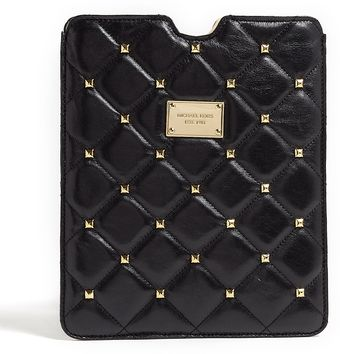 Michael by Michael Kors Quilted Studded Ipad Case - Lyst