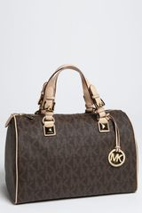 Michael by Michael Kors Grayson Logo Satchel Large - Lyst