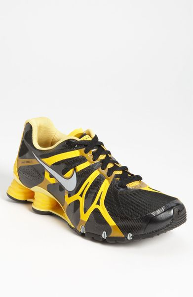 premium selection 0663a 61207 mens nike shox turbo 13 laf black maize silver